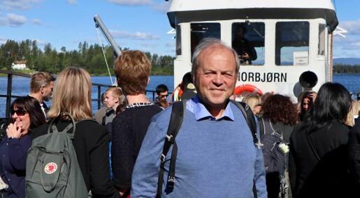 Internasjonale terrorforskere fikk et møte med Utøya