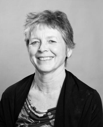 - Munch var kjent for å håndtere sine malerier svært uforsiktig, sier malerikonservator og seniorforsker emerita Mille Stein ved Norsk institutt for kulturminneforskning (NIKU). (Foto: NIKU)