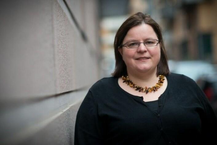 Vibeke Bjarnø er studieveileder ved utdanningen for grunnskolelærere på HiOA. (Foto: Skjalg Bøhmer Vold/Khrono.)