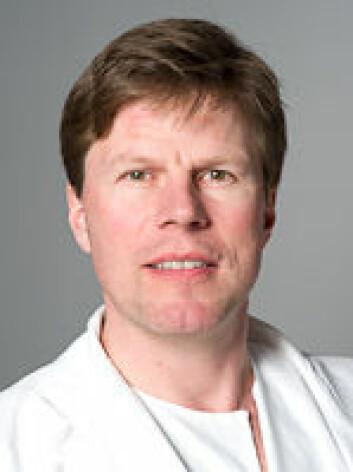 Are Martin Holm er førsteamanuensis ved Lungeavdelingen på UiO. (Arkivfoto: UiO.)
