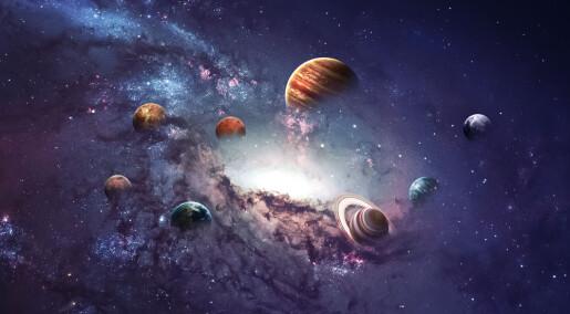 Hvorfor er planeter runde?