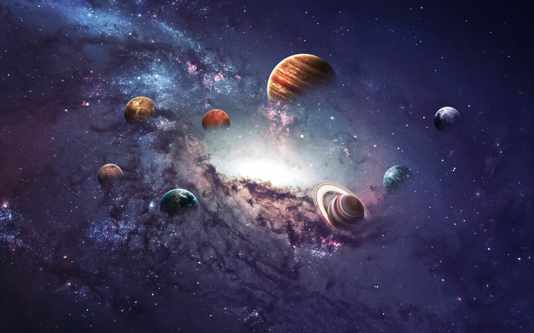 Alle vet at planeter er runde. Spørsmålet er hvorfor de ikke kan ha andre former. (Foto: Vadim Sadovski / Shutterstock / NTB scanpix)