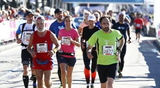 Norske, kvinnelige mosjonister løper raskere enn amerikanske menn