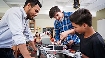 Lærere som støtter elevene faglig trives bedre på jobben