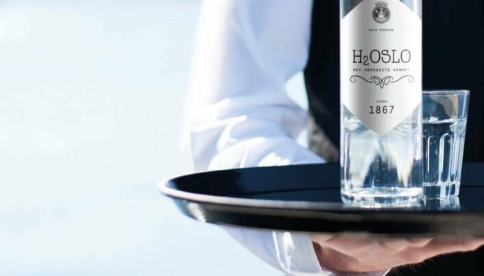 Vannkvalitet: Oslo-vannet har så høy kvalitet at vi kunne solgt det på flaske, lød budskapet i en kampanje fra Oslo kommune for noen år siden. (Foto: Oslo kommune, Vann- og avløpsetaten)