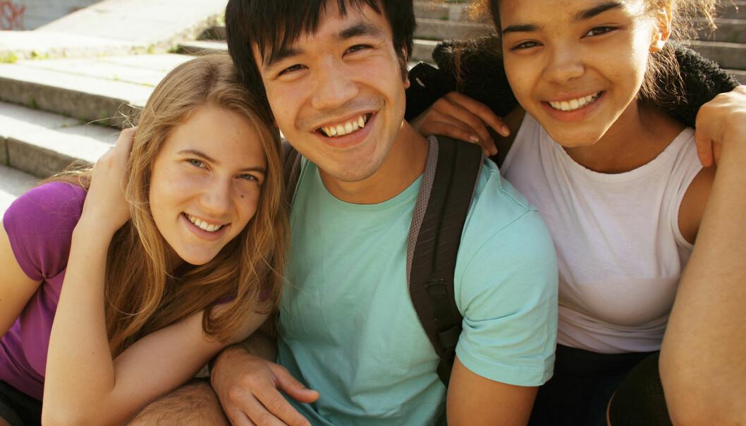 Sannsynligheten for at jentene i klassen så på en gutt som en nær venn økte desto mer empatisk han var. (Foto: Shutterstock / NTB Scanpix)