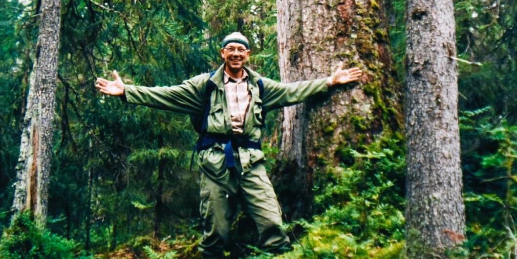 Jørgen Randers har oppfordret folk til at de ikke må lære barna sine å elske villmarken fordi det blir stadig vanskeligere å finne den. Som gammel speidergutt og med et langvarig engasjement for miljøsaken, blant annet flere år i ledeslen av WWF, er det for sent for hans egen del. (Foto: Privat)
