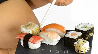 God hygiene og kald oppbevaring er viktig for å unngå listeriabakterier i sushien