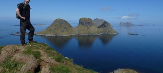 Røst fra ei øy midt i havet