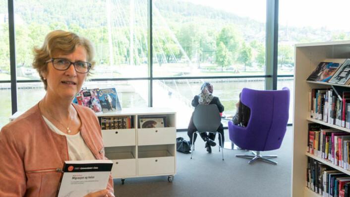 Beate Lie Sverre har forsket på helsen til eldre pakistanske kvinner i Norge. Personene på bildet har ikke noe med prosjektet å gjøre. (Foto: Jan-Henrik Kulberg)