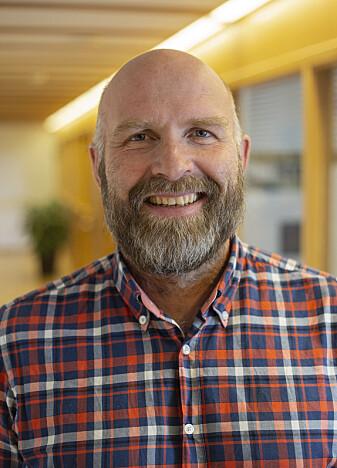 Gruppeleder ved CAS i 2018/2019, Helge Jordheim. (Foto: Camilla K. Elmar (CAS))