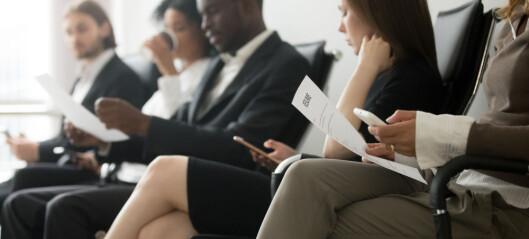 Mest diskriminering i arbeidslivet i Sverige og Frankriket