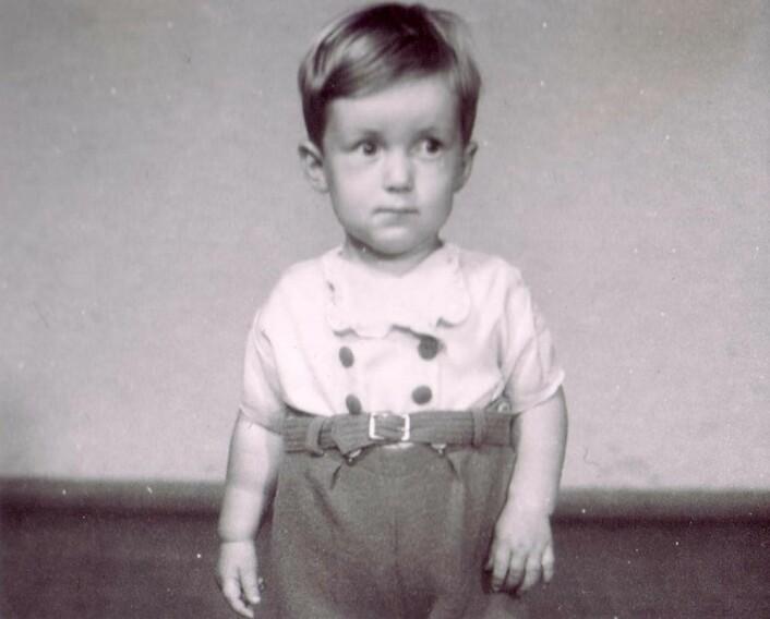 Ole Didrik Lærum var et følsomt barn. Her er han som toåring. (Foto: Privat)