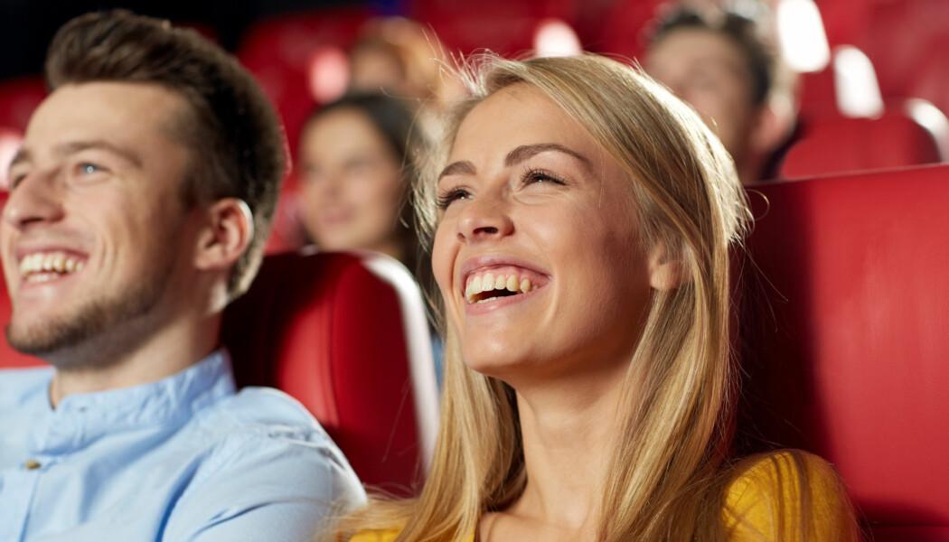 TV-serier har ofte benyttet seg av innspilt latter. Kanskje kompenserer det for noe som egentlig ikke er så morsomt? (Foto: Syda Productions/Shutterstock/NTB scanpix)