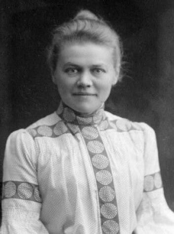 Bodil Biørn i 1905. (Foto: (Bildeutlån: Telemark museum))