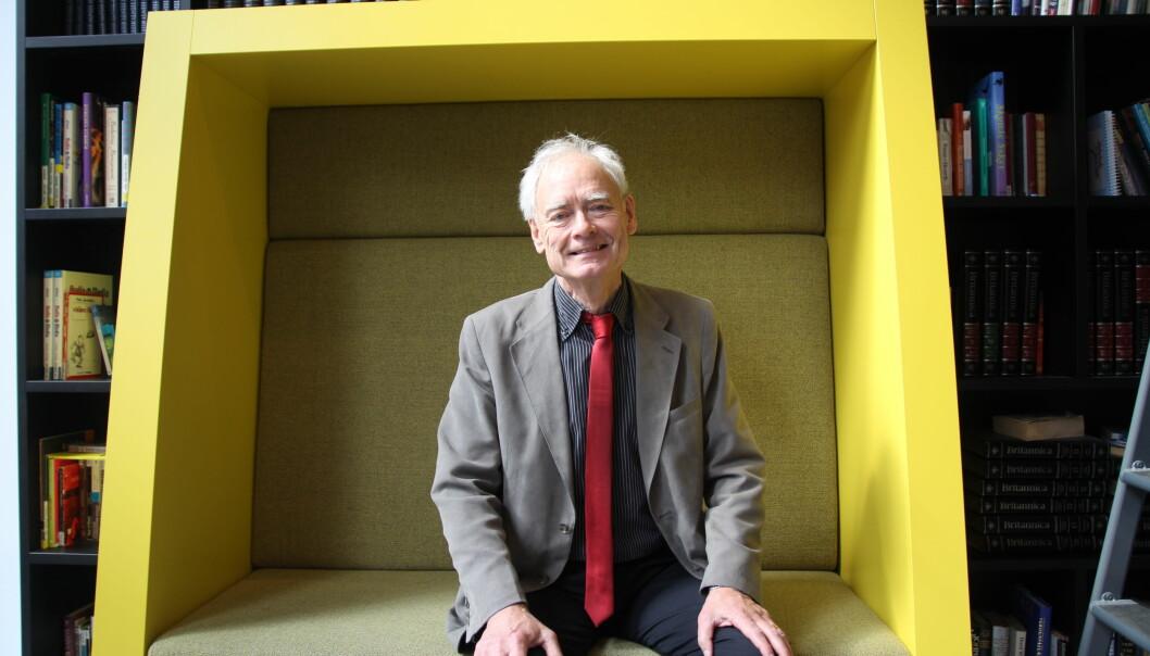 - Retningslinjene viser at Norge ligger langt foran Sverige når det gjelder forskningsetisk bevissthet, mener Göran Collste, professor i anvendt etikk ved Universitetet i Linköping.  (Foto: Elin Fugelsnes)