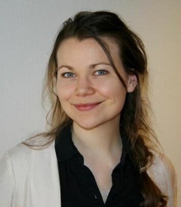 Nina Nielsen har latt seg inspirere av black metal-kulturen som preget den lille bygden hun vokste opp i på Vestlandet. (Foto: NMH)