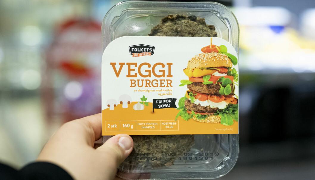 Vegetarprodukter blir mer og mer populært i Norge. (Foto: Fredrik Hagen / NTB scanpix)