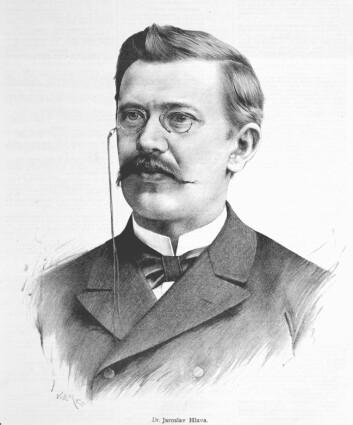 Jaroslav Hlava ble for ettertiden kjent som «Dr. Dr. Uplavici», eller «Dr. Blodig Diaré», etter at man forvekslet navnet hans med tittelen på forskningsartikkelen han skrev. (Foto: Wikimedia commons)