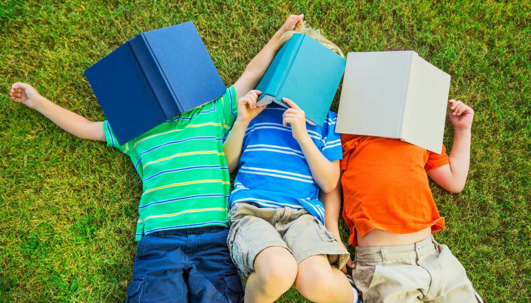 Bøkene kan enten være en direkte grunn til inntektsøkningen, eller bare en måte å måle hvor ressurssterke barnas foreldre er. (Foto: Shutterstock / NTB Scanpix)