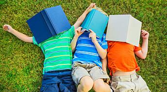 Barn med bøker hjemme tjente mer som voksne