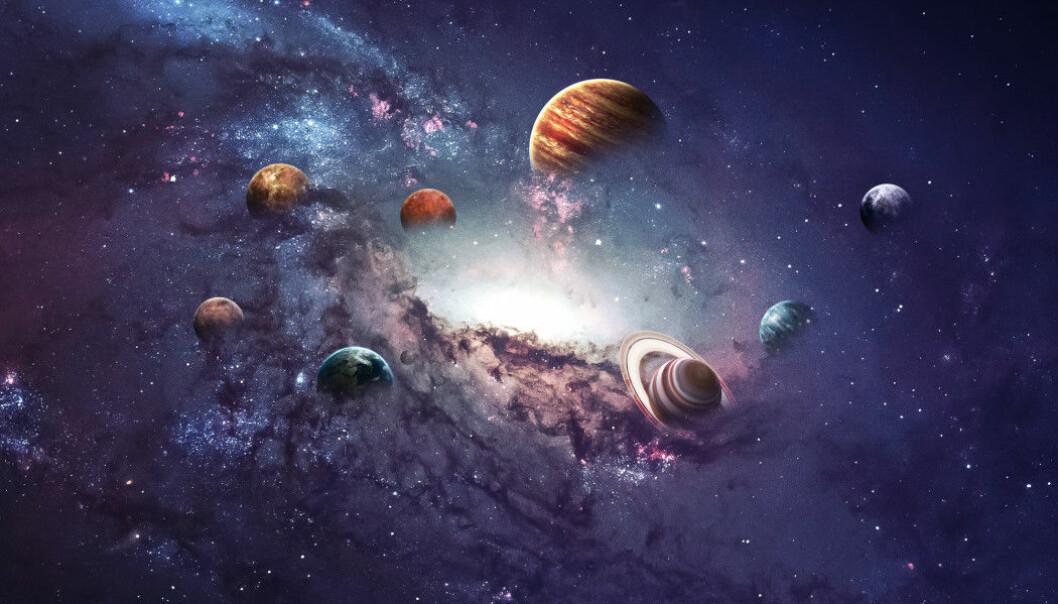 Planeter er runde. Men må de være det? (Foto: Vadim Sadovski / Shutterstock / NTB scanpix)