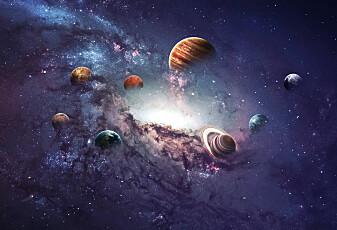 Hvorfor er planetene runde?