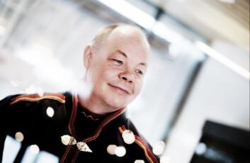 Henrik Olsen i Sametinget mener forskningen må skje på det samiske samfunnets premisser og at forskere må være bevisst på hva som er samisk etikk. (Foto: Kenneth Hætta/Sametinget)