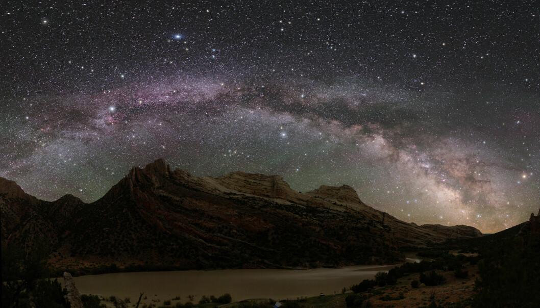 En tredel av menneskeheten kan ikke lenger se Melkeveien