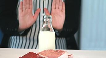 - Rødt kjøtt og melk er sunt