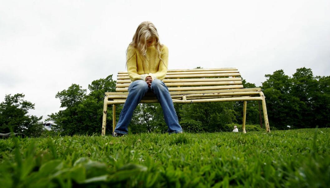 Forskere mener de aller fleste antidepressive medisinene på markedet ikke fungerer for barn og tenåringer med sterk depresjon. (Illustrasjonsfoto: Sara Johannessen/NTB Scanpix)