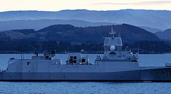 Forsker: Norsk marinebidrag i Persiabukta svekker norsk beredskap