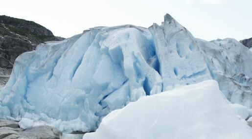 Forskere: Flere norske isbreer kan forsvinne