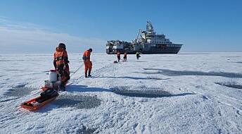 Løse bolter førte til at forskningstokt i Polhavet måtte avbrytes