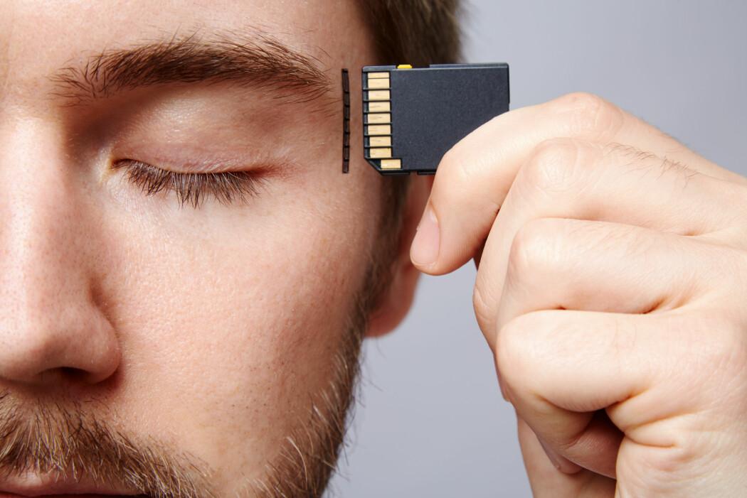 Nei. Hukommelse er ikke bare hjernens harddisk, der vi lagrer informasjon og minner. Det er noe mer komplisert enn det. (Foto: Veles Studio / Shutterstock / NTB scanpix)