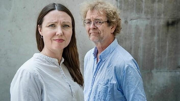 Kari Stefansen og Svein Mossige har sammen med kolleger skrevet rapporten fra undersøkelsen. (Foto: Benjamin Ward, HiOA)