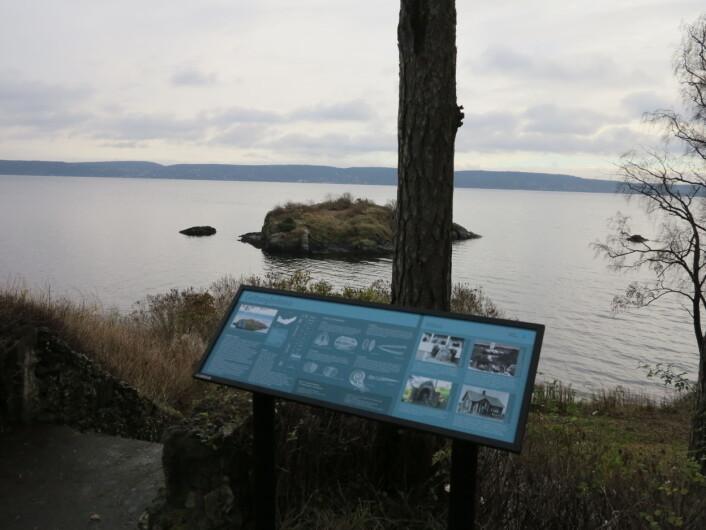 Slemmestad er en perle ved Oslofjorden, også for fossilentusiastene. Foto: LLD