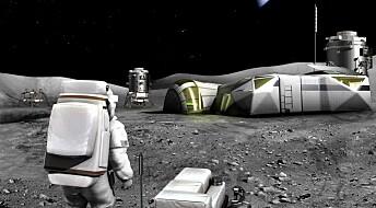 Kan månestøv brukes til byggematerialer og oppvarming?