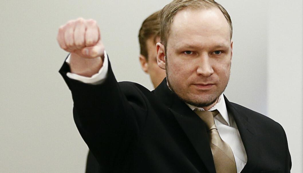 Under rettssaken mot Anders Behring Breivik i 2012 hevdet noen psykiatere at terroristen var psykotisk. Andre at han ikke hadde vrangforestillinger, men delte ideene med andre med lignende politisk overbevisning. Retten slo fast at han var tilregnelig. Et nytt begrep kan gjøre at vi unngår forvirring, mener amerikanske forskere. (Foto: Fabrizio Bensch/Reuters)