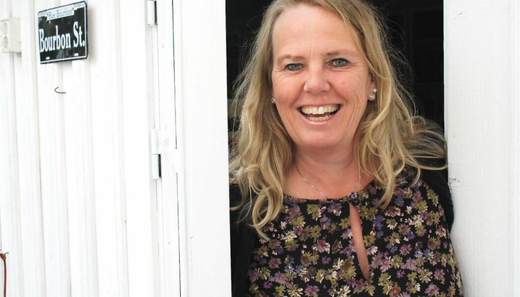 Hilde Larsen Damsgaard mener det er en nytelse å se på når grundig forskning formidles på en måte som fanger publikum.  (Foto: Ingvild G. Sildnes)
