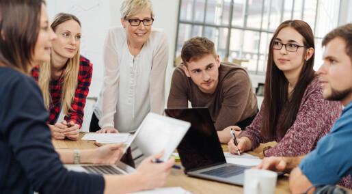 Mentorordning skal hjelpe lærerstudenter til å tenke som en lærer