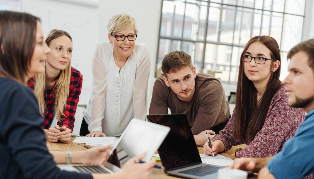 170 førsteårsstudenter ble spurt om hva de synes om mentorordningen ved UiO. (Illustrasjonsbilde: stockfour / Shutterstock / NTB scanpix)