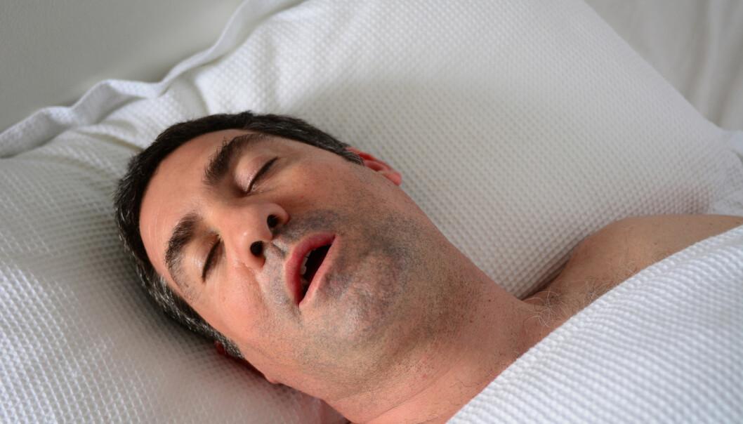 Den som har søvnapné stopper stadig å puste i søvne. (Foto: Shutterstock, NTB scanpix)
