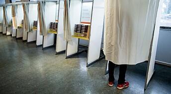 Valgforsker: – Årets fylkestingsvalg er et demokrati-eksperiment