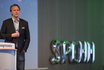 Jarle Holm i EVRY tror bankene har mye å spare på å ta i bruk blockchainteknologi (Foto: Marte Brennbakken/Netlife Research)