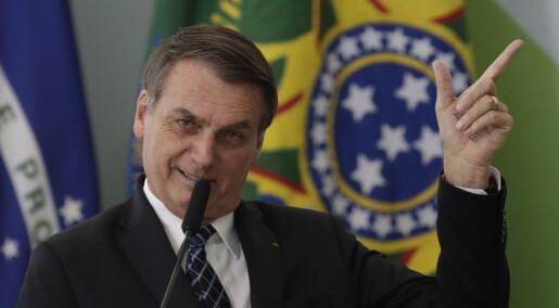 Romforsknings-sjef i Brasil har mistet jobben