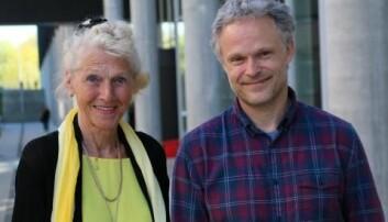 Anne-Lise Børresen-Dale og Ole Christian Lingjærde (foto: Gunhild M. Haugnes/UiO)