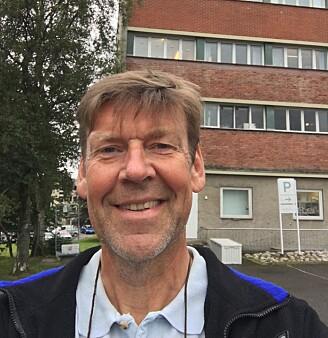 Karl Henrik Haugholt ved Sintef har utviklet teknologien bak kamera (Foto: Sintef)