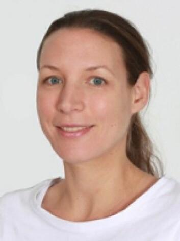 Forsker Katerina Nezvalova-Henriksen er førsteforfatter på studien om bruk av antidepressiva i svangerskapet. (Foto: UiO)