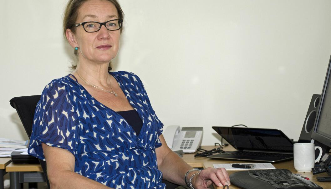 Forskningssjef Anne Britt Djuve mener myndighetene må betale mer for spørreundersøkelser for å få flere svar fra innvandrere. (Foto: Jon Lahlum, Fafo)